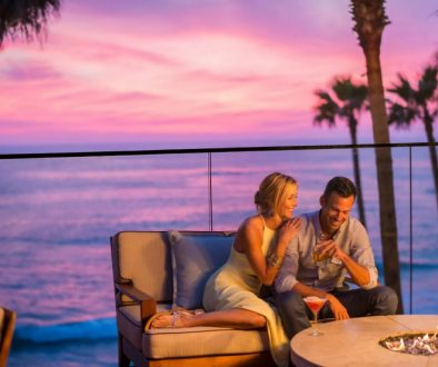 Book your romantic getaway and get a great deal with this Black Friday Cyber Monday Travel Deals. Photo credit: Surf and Sand Resort, Laguna Beach, California.