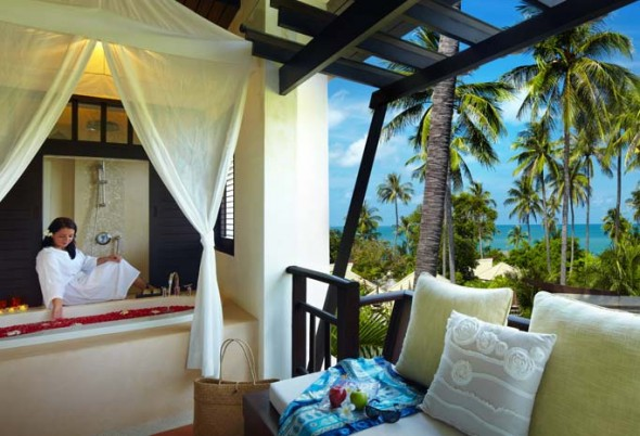 Luxury getaway at the Melati Beach Resort & Spa, Koh Samui, Thailand