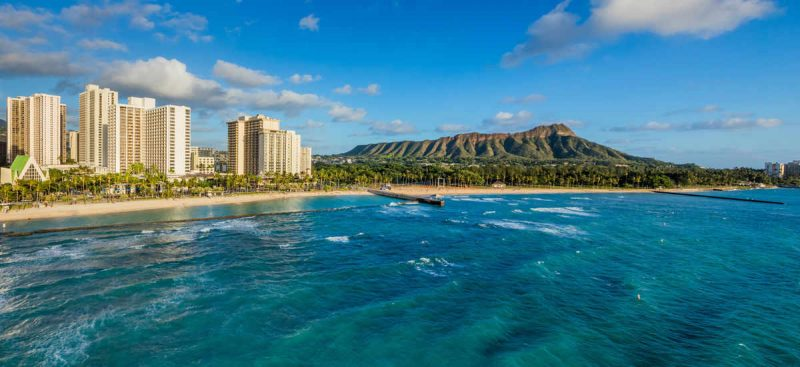 Shop from Black Friday to Cyber Monday for travel deals on over 3,500 individual Marriott International Hotels. Photo Credit: Waikiki Beach Marriott Resort & Spa
