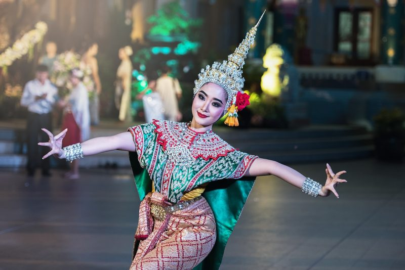 Embrace the culture of Asia.