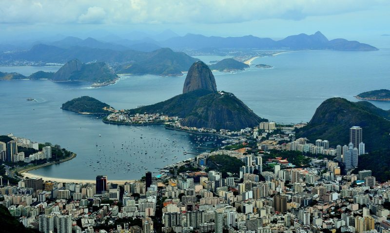 One of the most popular destinations in the world is in The Americas: Rio de Janeiro, Brazil.