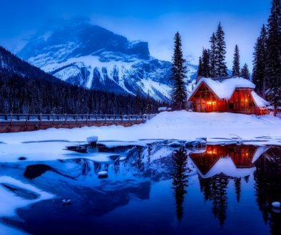 Give your family a snowy holiday with these Wintery landscapes in Canada