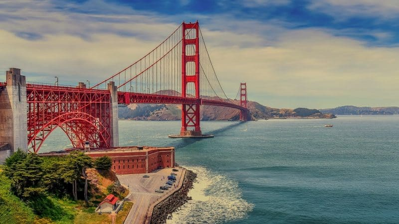 What's more Americana iconic than the Golden Gate Bridge in San Francisco, California?