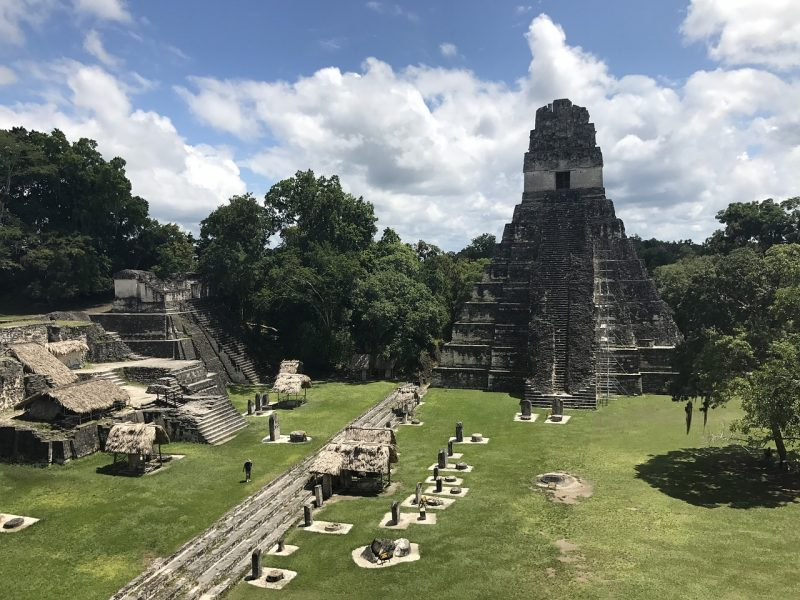 Take timet to explore th anicent ruins of Tikal in Guatemala, Central America.