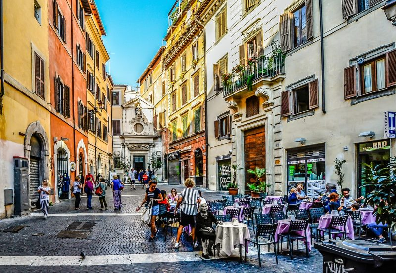 That's Amore! When you think of romance, Rome, Italy always tops the list