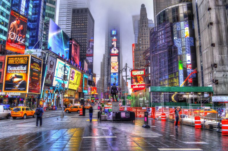 Most travelers to The Americas include a stop in Manhattan in New York for a Broadway show.