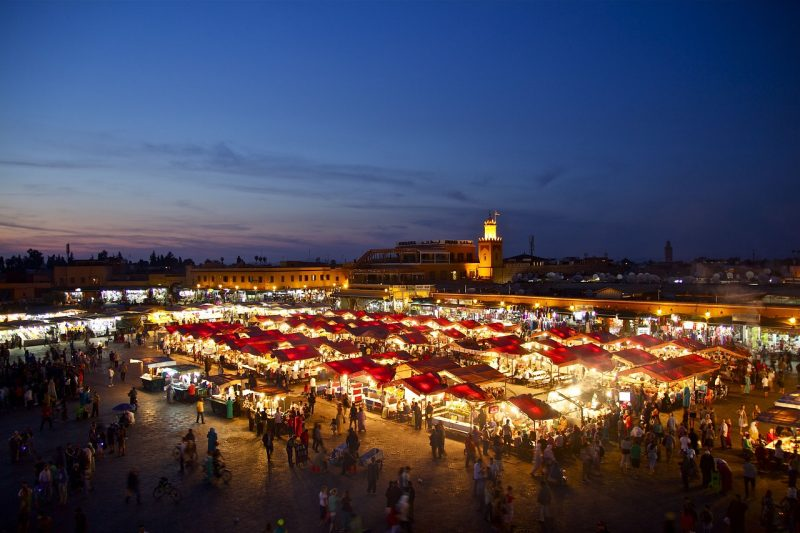 Founded almost 1000 years ago on the edge of the Sahara, Marrakech is a southern market town that has grown to become one of the great cities of Morocco AND a Unesco Heritage site