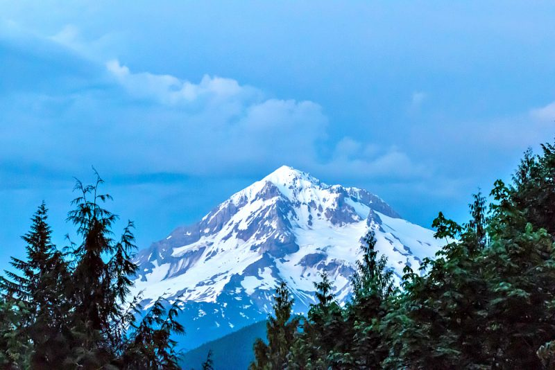 On our recent multigenerational family vacation, we stayed in Mt. Hood at a vacation home -- worth the view alone! Photo credit: Tom Pitts