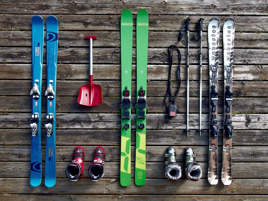 First time skiing? Rent ski gear on your vacation until you're sure this is the sport for you.