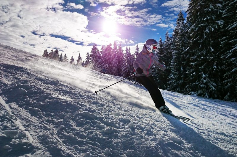Build your confidence on the slopes with these ski tips for the first timer.