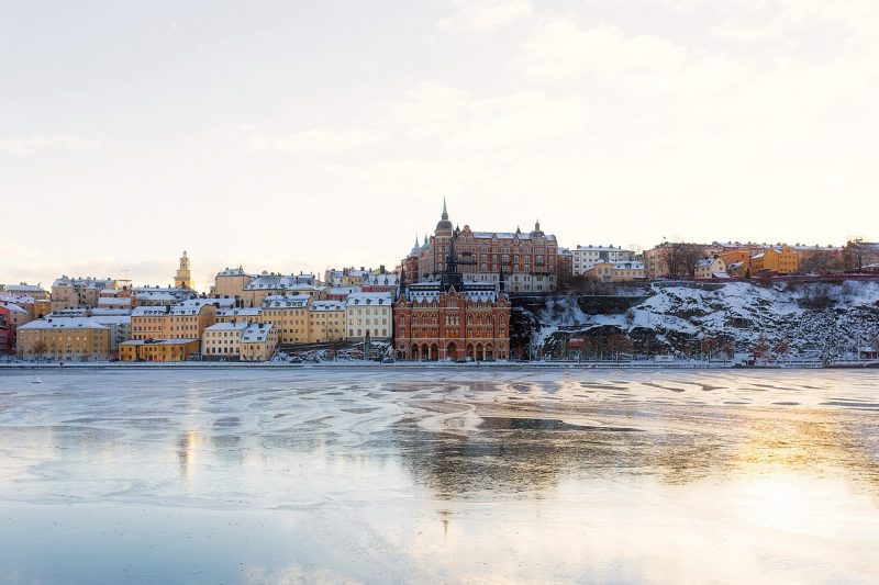 Stockholm, the capital of Sweden, encompasses 14 islands and more than 50 bridges on an extensive Baltic Sea archipelago.