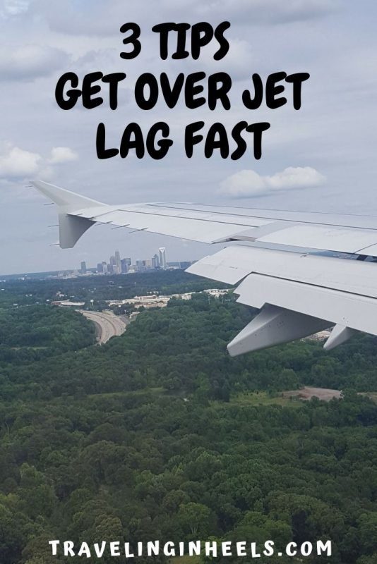 3 tips to get over jet lag fast #jetlag #traveltips #jetlagtips #familyvacation