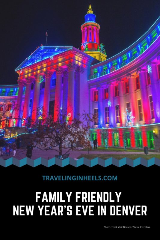 8 Family-Friendly Things to do in Denver on #NewYear'sEve #Denver