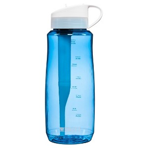 Bring an empty water bottle in order to stay healthy and hydrated.