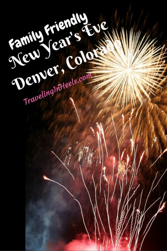 Family friendly New Year's Eve in Denver, Colorado.