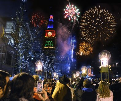 Family Friendly New Year's Eve in Denver includes their New Year's Eve firework show in downtown Denver.