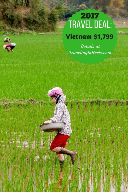 Travel deal to Vietnam just $1,799.