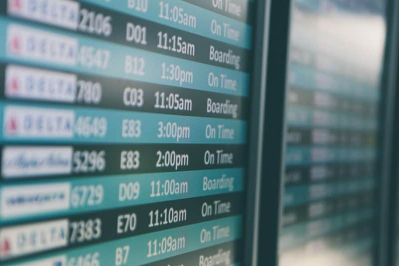1 of 3 best tips to Get Over Jet Lag Fast is to consider flight times