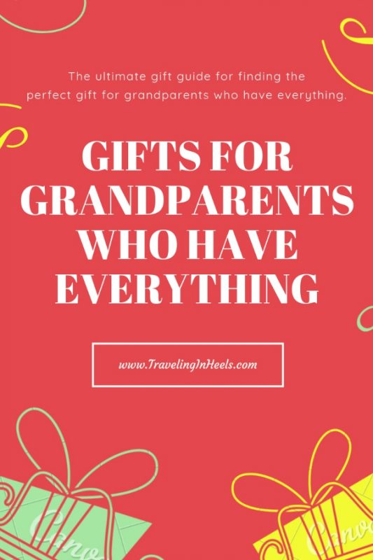 Gifts for grandparents who have everything #giftguide #grandparentsgiftguide