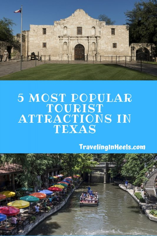 From San Antonio Riverwalk to the Alamo, these are the 5 Most Popular Tourist Attractions in Texas #Texastravel #familyvacation