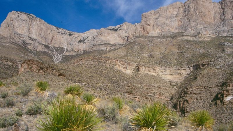 Guadalupe Mountains National Park is in the vast Chihuahuan Desert of western Texas. Photo credit: National Parks Service