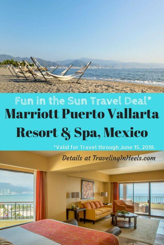 Travel Deal 2018 Marriott Puerto Vallarta Resort Spa, Mexico