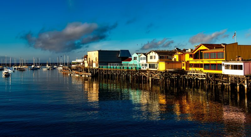 A visit to the beautiful Monterey Peninsula on California's West Coast just isn't complete without a rendezvous with Old Fisherman's Wharf.