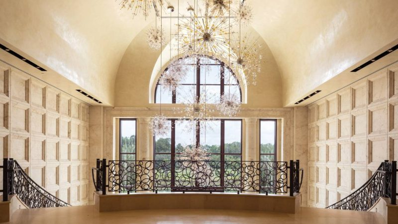 The chandelier is your first sign of how magical your stay will be at the Four Seasons Orlando.