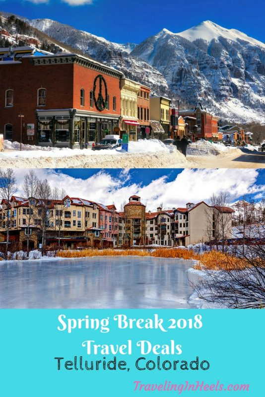 Spring Break Travel Deals To Telluride Colorado