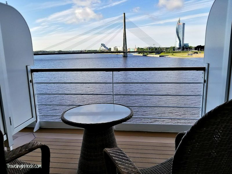 On my recent Baltic Sea Cruise on the Regent Seven Seas Explorer, this was my view of Riga, Latvia, which is another reason why your next vacation needs to be a cruise.