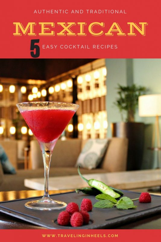 5 easy cocktail recipes, courtesy of Mexico hotels & resorts