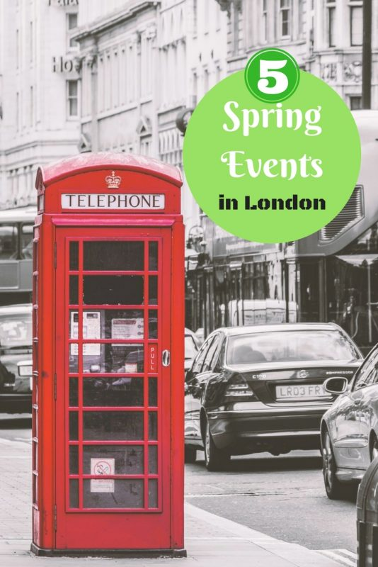 5 spring events in and around London
