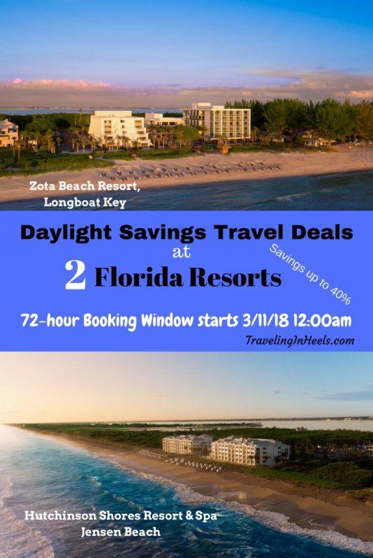 2018 Daylight Savings Travel Deals at 2 Florida Resorts