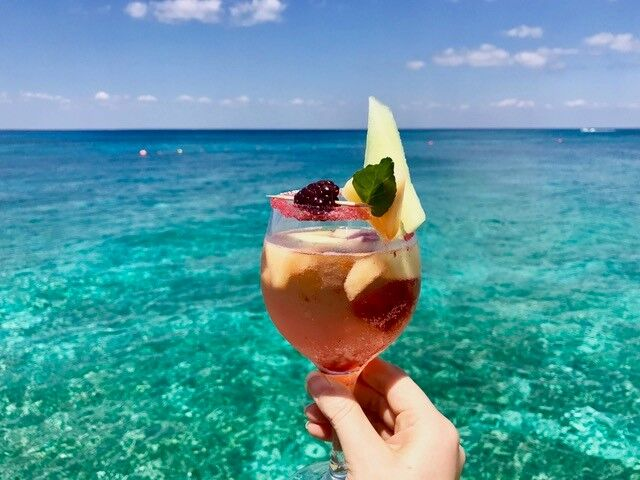 Fiesta Americana Cozumel All-Inclusive serves up this refreshing wine cocktail: Paraiso.