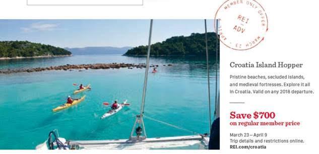 REI Adventures to Croatia