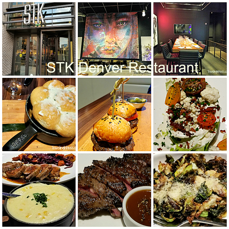 One of the best new restaurants in Denver is STK Denver, a posh steakhouse with a nightclub vibe.