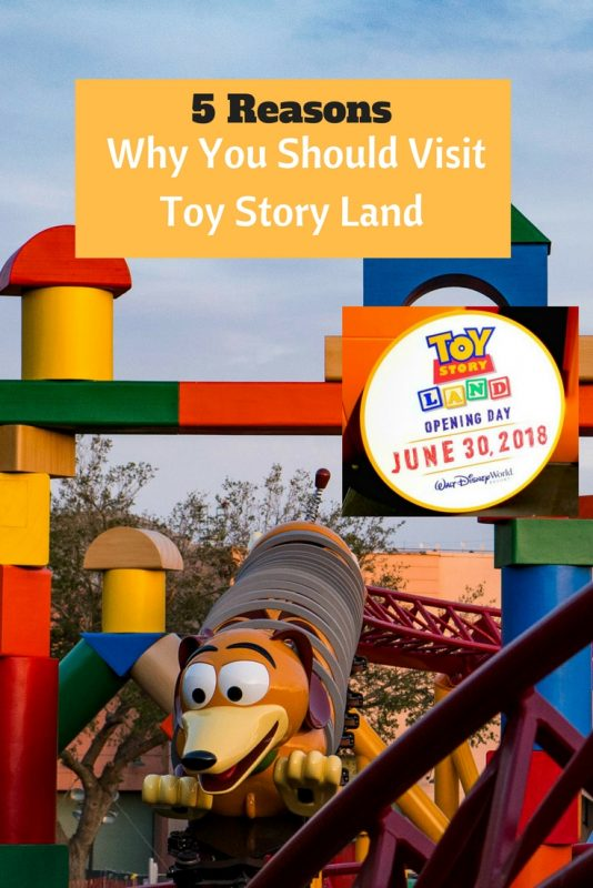 5 reasons why you should visit Toy Story Land This summer (opening June 30, 2018)