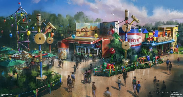 Woody's Lunch Box will be a new quick-service window serving tasty meals and old-fashioned soda floats within Toy Story Land at Disney's Hollywood Studios when it opens in summer 2018. (Disney) (PRNewsfoto/Walt Disney World)