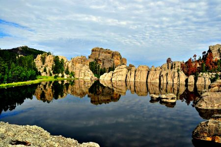 Explore South Dakota and the Black Hills and include a stop at Custer State Park.