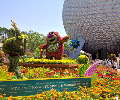 Don't miss the Epcot International Flower & Garden Festival at Walt Disney World Orlando!
