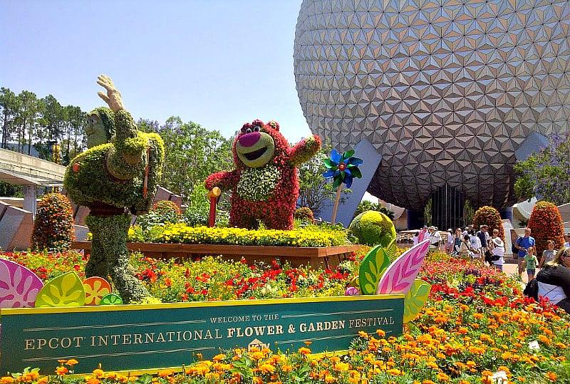 Don't miss the Epcot International Flower & Garden Festival at Walt Disney World Orlando!