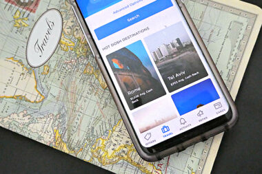 Dosh, the Cash Back app, offers hot hotel destinations, so you can make money while you sleep