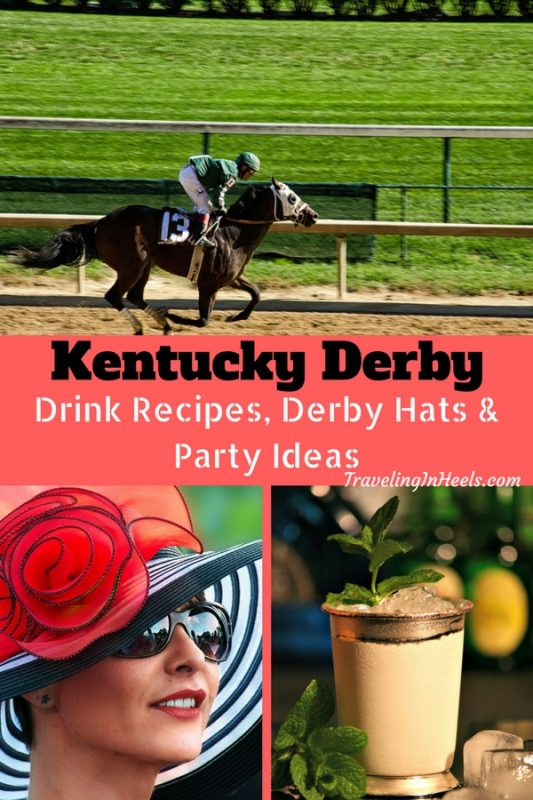 Kentucky Derby drink recipes, Derby Hats & party ideas.
