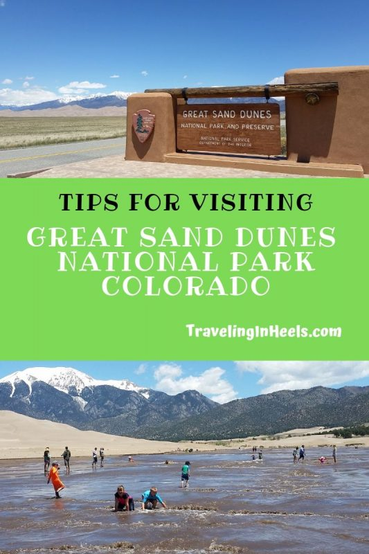 tips for Great Sand Dunes National Park Colorado #nationalpark #greatsanddunes #coloradonationalpark #roadtrip #familyvacation