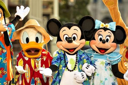 Hello Mickey - you so fine! And Minnie, Donald, Goofy Pluto...Welcome to Walt Disney World Summer 2018