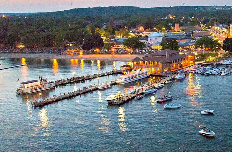 When it's all about the water, Lake Geneva, Wisconsin. Photo credit: Visit Lake Geneva