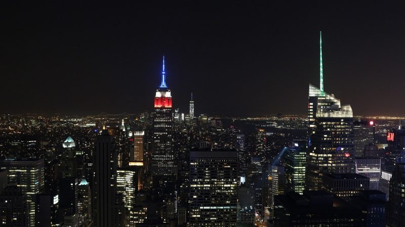 Have you ever experienced New York at night at the Empire State Building?