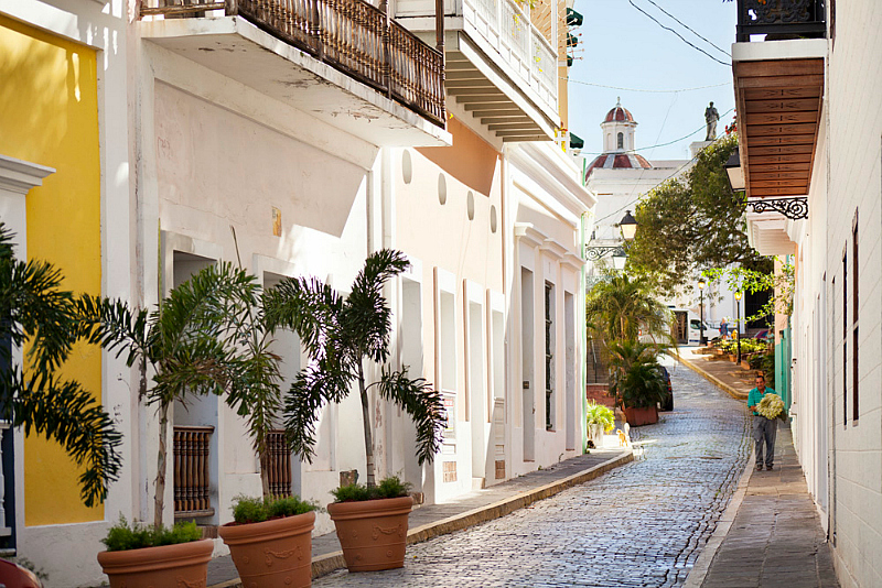 For the history buff, the Sun & History Getaway, 1 of 5 Summer Hotel Travel Deals to San Juan, Puerto Rico. Photo Credit: Hotel El Convento