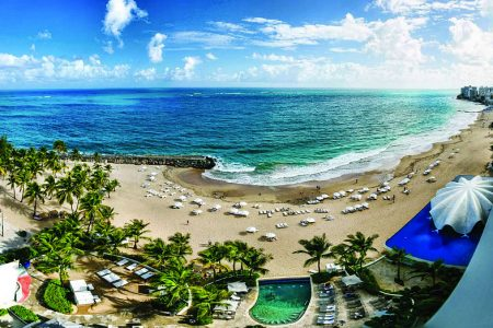Check out this  Turn Up Your Weekend Package, 1 of 5 Summer Hotel Travel Deals to San Juan, Puerto Rico. Photo Credit: La Concha Resort