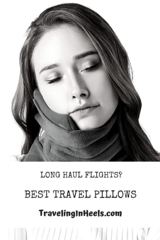 Give the gift of comfort with these best travel pillows for long haul flights. #travelpillow #traveltips #familyvacation #multigentravel